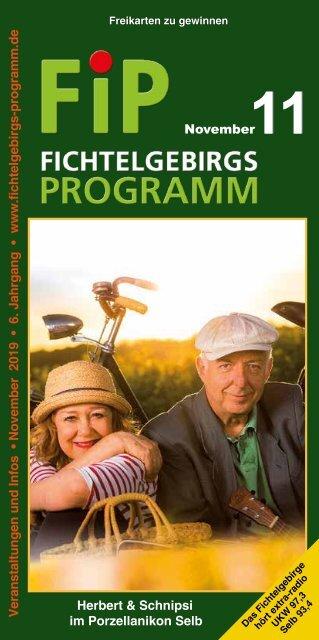 Fichtelgebirgs-Programm - November 2019