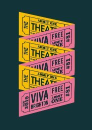 Viva Brighton Issue #81 November 2019