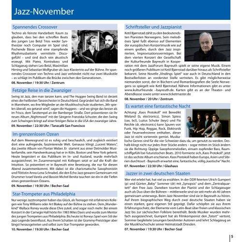 Bayreuth Aktuell November 2019
