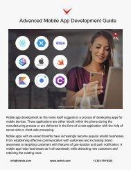 Advanced Mobile App Development Guide