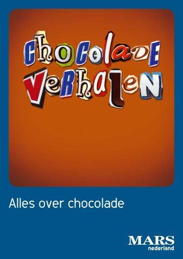 kun je de brochure Chocoladeverhalen downloaden - Mars