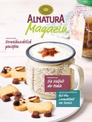 Alnatura Magazin November 2019