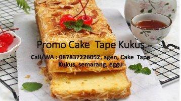 Promo Cake  Tape Kukus PDF