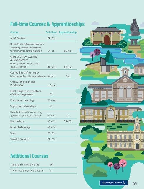 Shipley College Full-time Prospectus 2020-21
