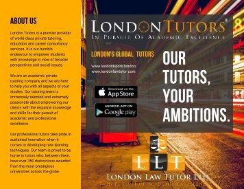 London Tutors and London Law Tutor