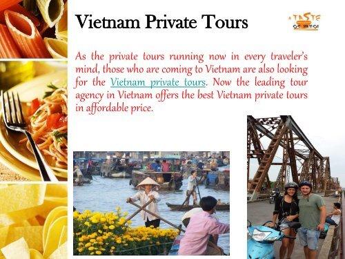 Vietnam Private Tour - A Taste of Hanoi