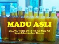 CALL/WA +62813-9164-8400,Jual,Madu Asli,Bekasi,Madu Ar-Razzaaq
