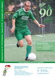 Stadionheft 02 - Saison 2007 /2008 - SV Zeilsheim