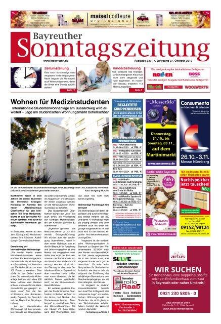 2019-10-27 Bayreuther Sonntagszeitung