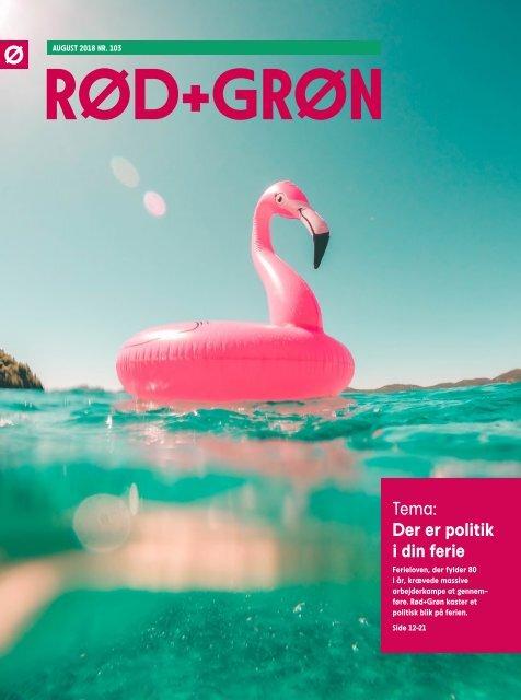 Rød+Grøn, august 2018