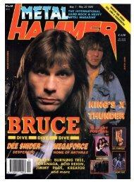 metal hammer may 1990