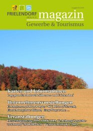 Frielendorf aktiv e.V. Magazin Gewerbe & Tourismus 2/2019