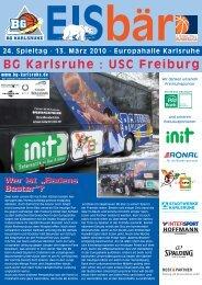BG Karlsruhe : USC Freiburg