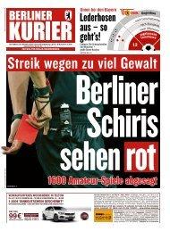 Berliner Kurier 26.10.2019