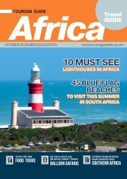 Tourism Guide Africa Travel Guide. October - December 2019 Edition