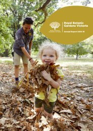 Royal Botanic Gardens Victoria Annual Report 2018-19