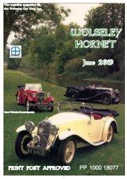 Wolseley Hornet June 2019