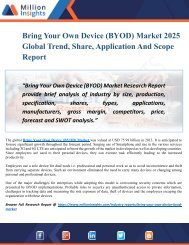 Bring Your Own Device (BYOD) Market Size, Share, Trend, Growth And Application Reports