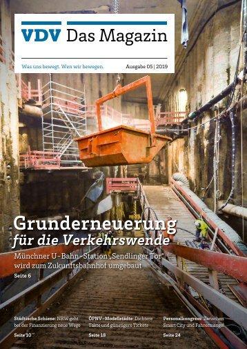 VDV Das Magazin Ausgabe 5/2019
