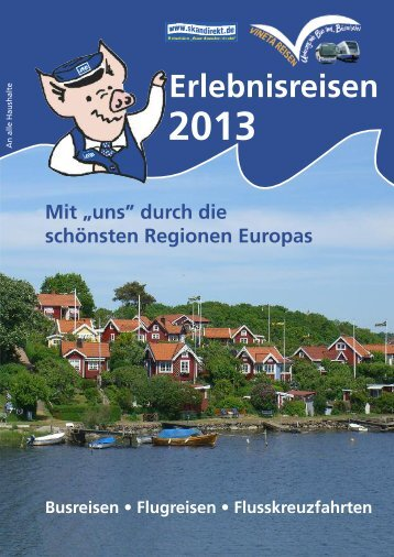 Urlaubsreisen 2013 - Usedomer Bäderbahn GmbH