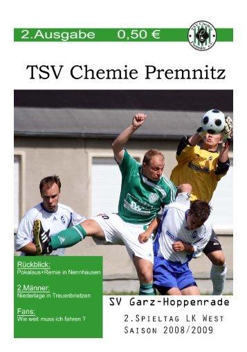 2.Männermannschaft - Premnitz-Archiv.de