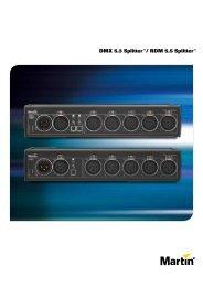 DMX 5.3 Splitter / RDM 5.5 Splitter - Martin