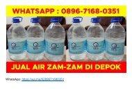 WA 0896–7168–0351 Agen Air Zam Zam Asli di Depok