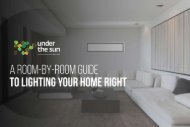 A Room-by-Room Guide to Lighting Your Home Right   Under The Sun