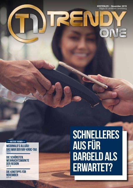 TRENDYone   Das Magazin - Allgäu - November 2019