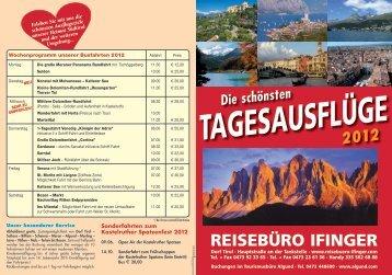 ReiseBüRo ifingeR - Algund