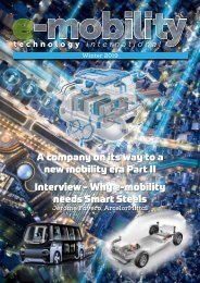 E-mobility Technology Winter 2019