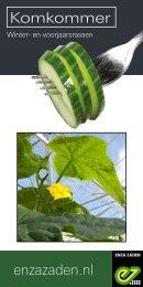 Brochure Komkommer winter- en voorjaarsrassen