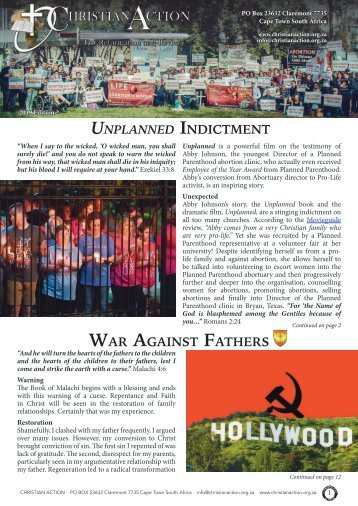 Unplanned Indictment - Edition 2 of 2019