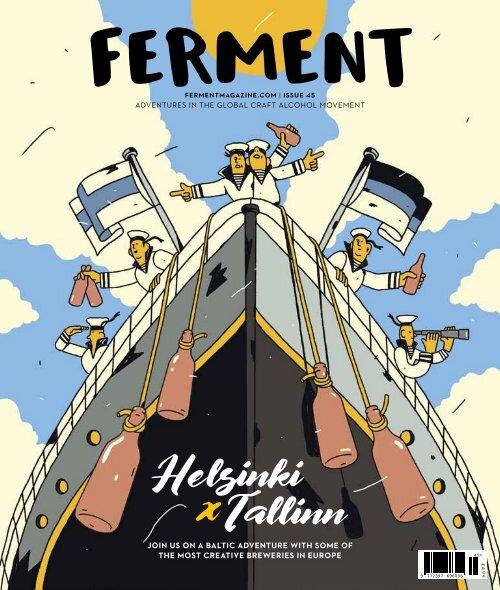 Ferment Issue 45 // Helsinki x Tallinn