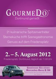 2. – 5. August 2012 - GourmeDo