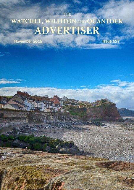 Watchet, Williton and Quantock Advertiser, November 2019