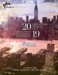 2019 NY & NJ MSDC Partnership Awards Gala