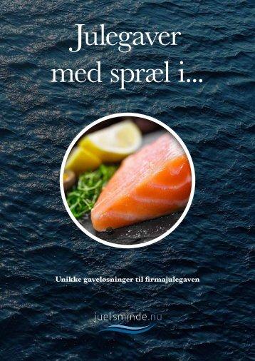 10112 - Juelsminde Fisk julelaks-brochuren