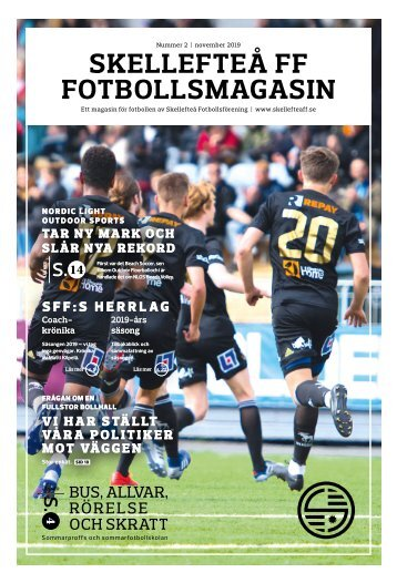 Skellefteå FF - Fotbollsmagasin - 2019 #2