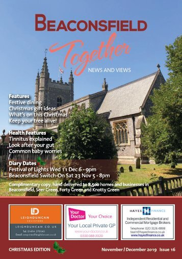 Beaconsfield Together (formerly Beaconsfield Local) November/December 2019 Issue