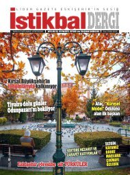 İstikbal Gazetesi İstikbal Dergi Ekim 2019 Sayısı