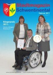 Bürgerpreis 2011: - beim Stadtmagazin Schwentinental!
