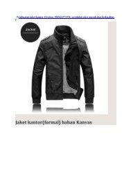 Pembuatan jaket kantor Cirebon   085624371576   produksi jaket murah dan berkualitas