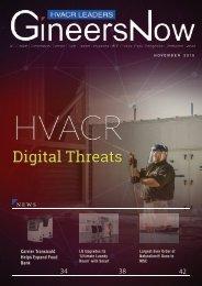 Digital Threats in HVAC, HVACR Leaders magazine, Nov2019