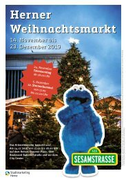 Herner Weihnachtsmarkt – Programmheft 2019
