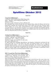 Spielfilme Oktober (PDF, 117 kB) - Stadt Salzburg