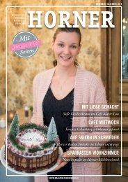 HORNER Magazin |November-Dezember 2019
