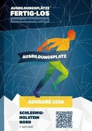 AUSBILDUNGSPLÄTZE - FERTIG - LOS | Schleswig-Holstein Nord 2020