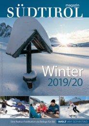 Südtirol Magazin Winter 2019/20 - Welt am Sonntag