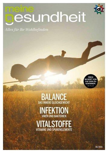 meine gesundheit Magazin November 2019